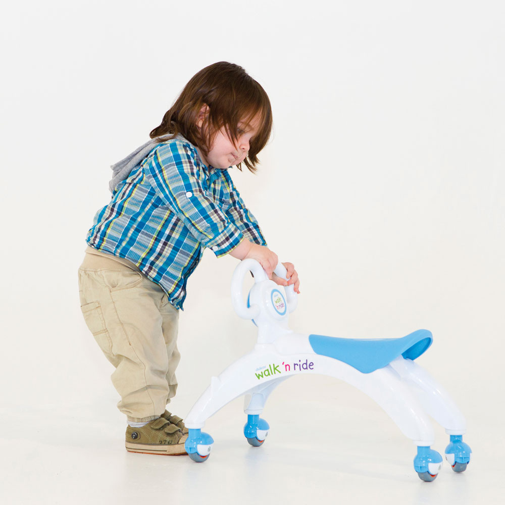 Didicar Walk /'n/' Ride Baby Walker and Ride On Toy